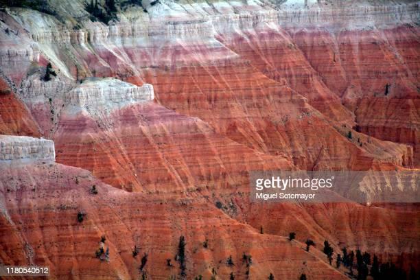 cedar breaks national monument - felsformation stock-fotos und bilder