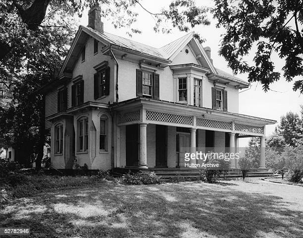 Cedar Hill, the home of American orator, editor, author, abolitionist and former slave Frederick Douglass , Washington, DC, 1960s.