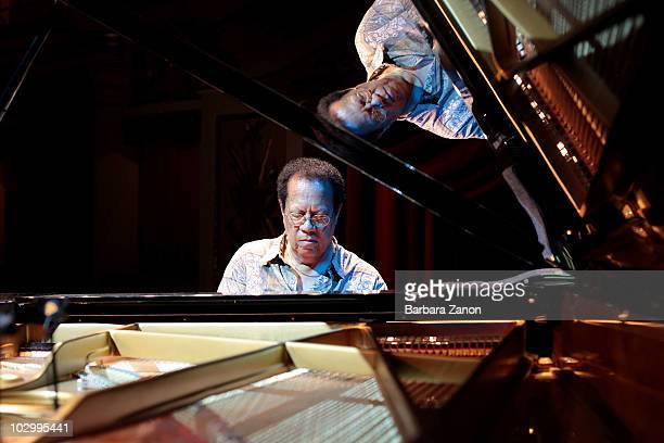 Cedar Walton performs on stage during Umbria Jazz Festival on July 13, 2010 in Perugia, Italy.