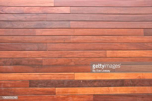 cedar wood wall - wood panelling stock pictures, royalty-free photos & images