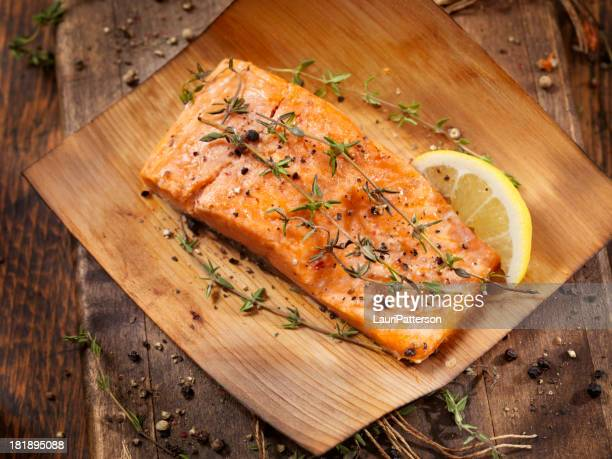 Cedar Wrapped Salmon