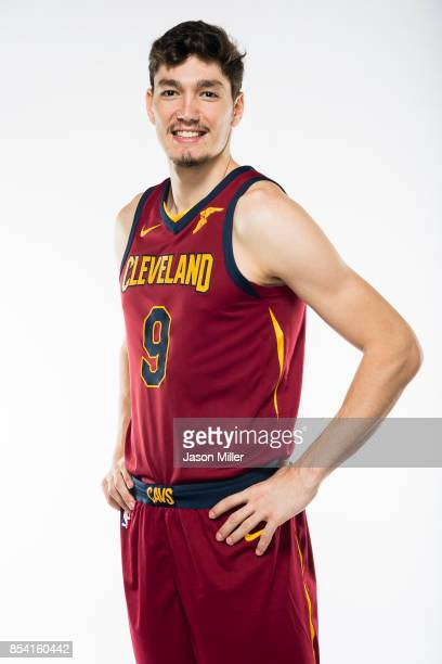 Cedi Osman of the Cleveland Cavaliers at Cleveland Clinic Courts on September 25 2017 in Independence Ohio NOTE TO USER User expressly acknowledges...