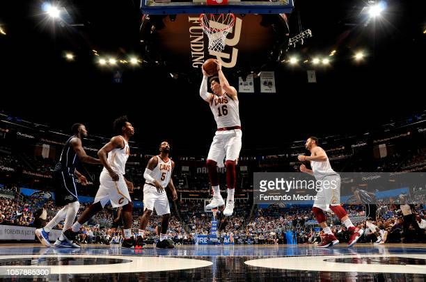 Cedi Osman of the Cleveland Cavaliers handles the ball against the Orlando Magic on November 5 2018 at Amway Center in Orlando Florida NOTE TO USER...