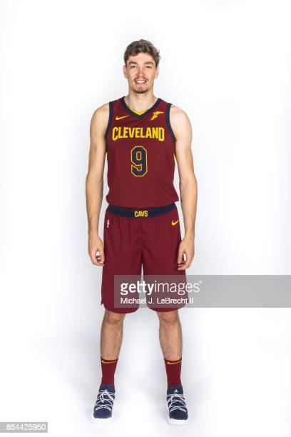Cedi Osman of the Cleveland Cavaliers poses for a portrait during the 201718 NBA Media Day on September 25 2017 at Quicken Loans Arena in Cleveland...
