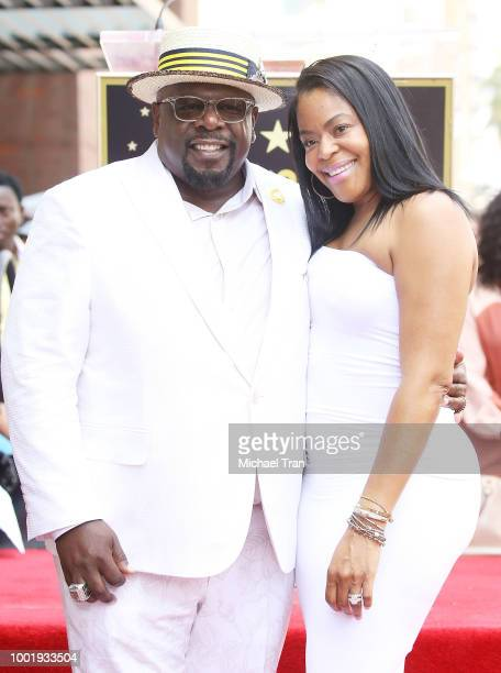 Cedric Antonio Kyles aka Cedric The Entertainer and his wife Lorna Wells attend the ceremony honoring him with a Star on The Hollywood Walk of Fame...