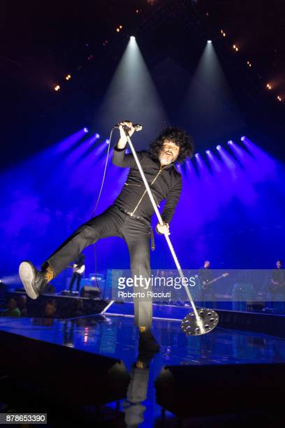Cedric Bixler of At The Drive In performs at The SSE Hydro on November 24 2017 in Glasgow Scotland