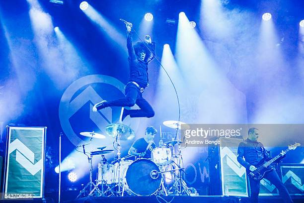 Cedric BixlerZavala of At The DriveIn performs on the Arena stage during Roskilde Festival 2016 on June 29 2016 in Roskilde Denmark