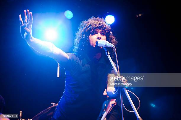 Cedric BixlerZavala of Mars Volta performs at the Institute Of Contemporary Arts on June 18 2009 in London England