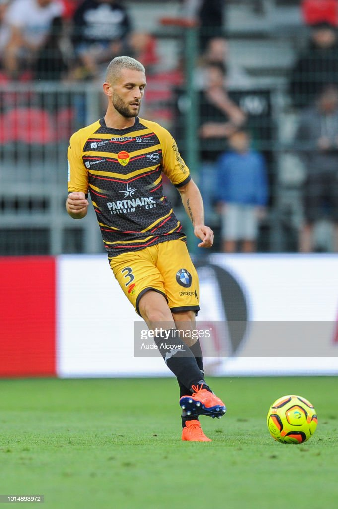 Cedric Cambon of Orleans during the French Ligue 2 match between Orleans and Auxerre on August 10, 2018 in Orleans, France.