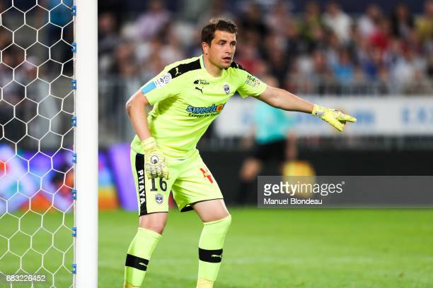Cedric Carrasso of Bordeaux during the Ligue 1 match between Girondins de Bordeaux and Olympique de Marseille at Nouveau Stade de Bordeaux on May 14...