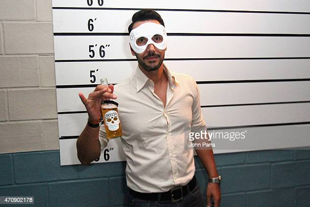 Cedric Gervais attends exclusive launch of Oculto Manor an interactive masked event in Miami celebrating the introduction of Oculto a unique lager...
