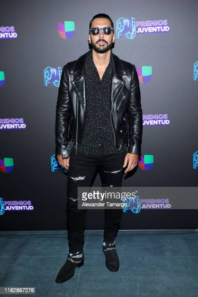 Cedric Gervais attends Premios Juventud 2019 at Watsco Center on July 18 2019 in Coral Gables Florida