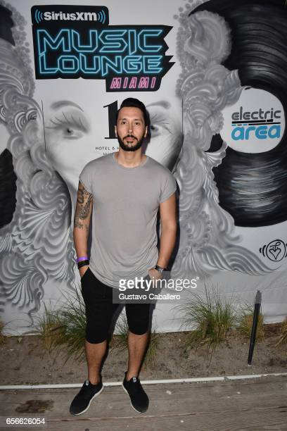 Cedric Gervais attends SiriusXM Music Lounge at 1 Hotel South Beach on March 22 2017 in Miami Florida
