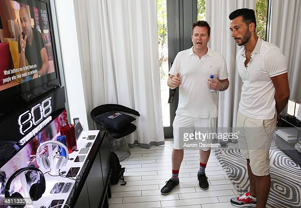 Cedric Gervais attends SiriusXM's UMF Radio at the SiriusXM Music Lounge at W South Beach on March 28 2014 in Miami Beach Florida