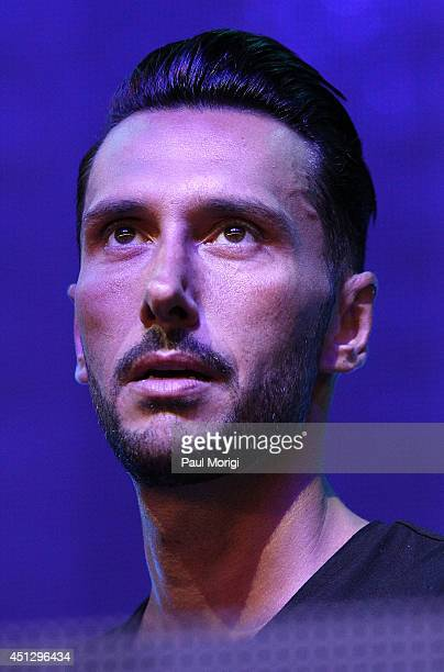Cedric Gervais performs at The Global Poverty Project's THANK YOU FESTIVAL at Merriweather Post Pavillion on June 26 2014 in Columbia Maryland
