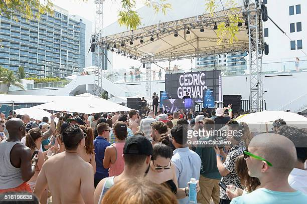 Cedric Gervais performs at The SiriusXM Music Lounge At 1 Hotel South Beach Leading Up To Ultra Music FestivalDay 2 on March 17 2016 in Miami Florida