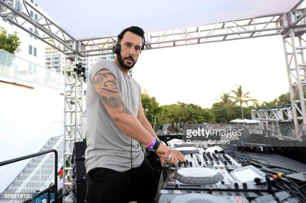 Cedric Gervais performs at the SiriusXM Music Lounge at 1 Hotel South Beach on March 22 2017 in Miami Florida