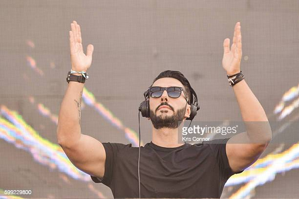 Cedric Gervais performs during the 2016 Electric Zoo Festival at Randall's Island on September 4 2016 in New York City