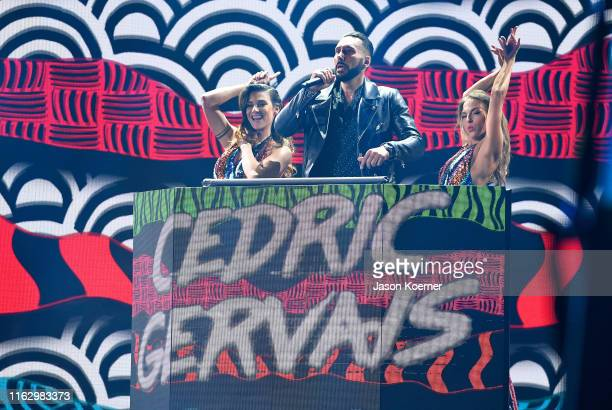 Cedric Gervais performs on stage during Premios Juventud 2019 at Watsco Center on July 18 2019 in Coral Gables Florida