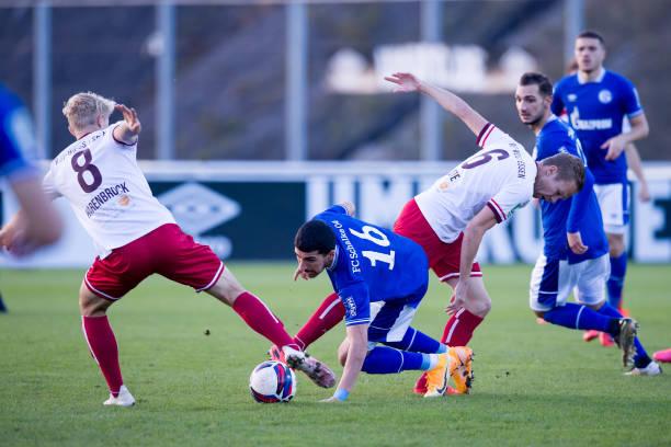 DEU: FC Schalke 04 II v Rot-Weiss Essen - Regionalliga