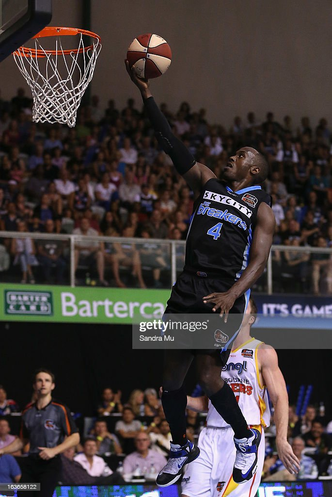 NBL Rd 23 - New Zealand v Melbourne : News Photo