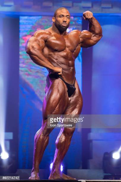 Cedric McMillan competes in the Arnold Classic as part of the Arnold Sports Festival on March 4 at the Greater Columbus Convention Center in Columbus...