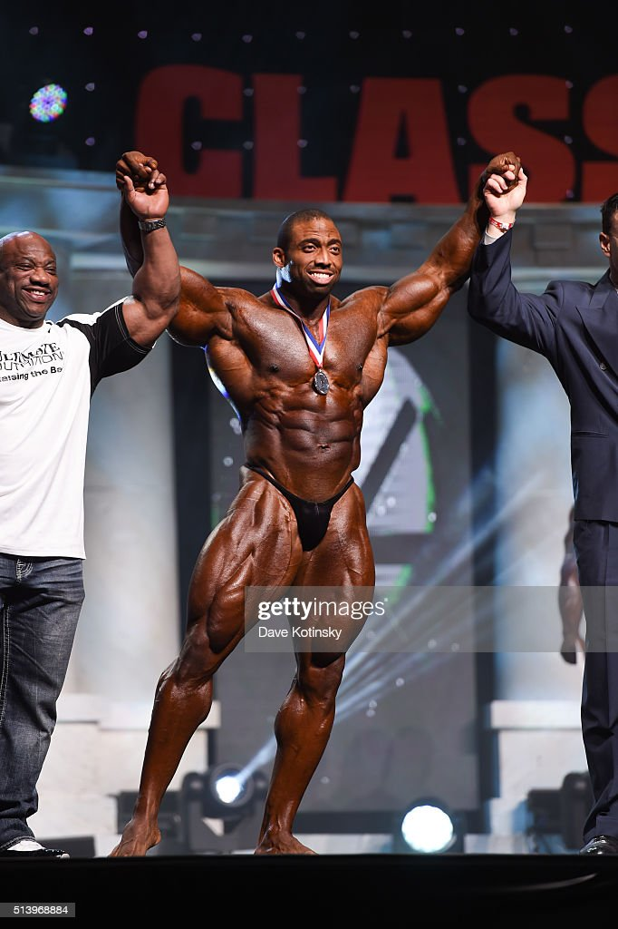 Cedric McMillan onstage at the Arnold Sports Festival 2016 on March 5, 2016 in Columbus, Ohio.
