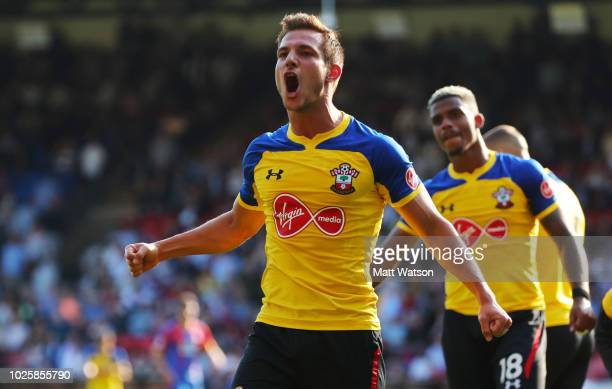 Cedric of Southampton during the Premier League match between Crystal Palace and Southampton FC at Selhurst Park on September 1 2018 in London United...