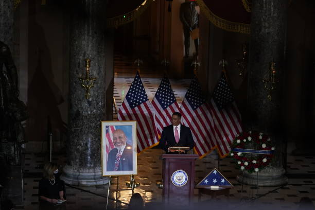 DC: Celebration Of Life Held For Congressman Alcee Hastings In U.S. Capitol