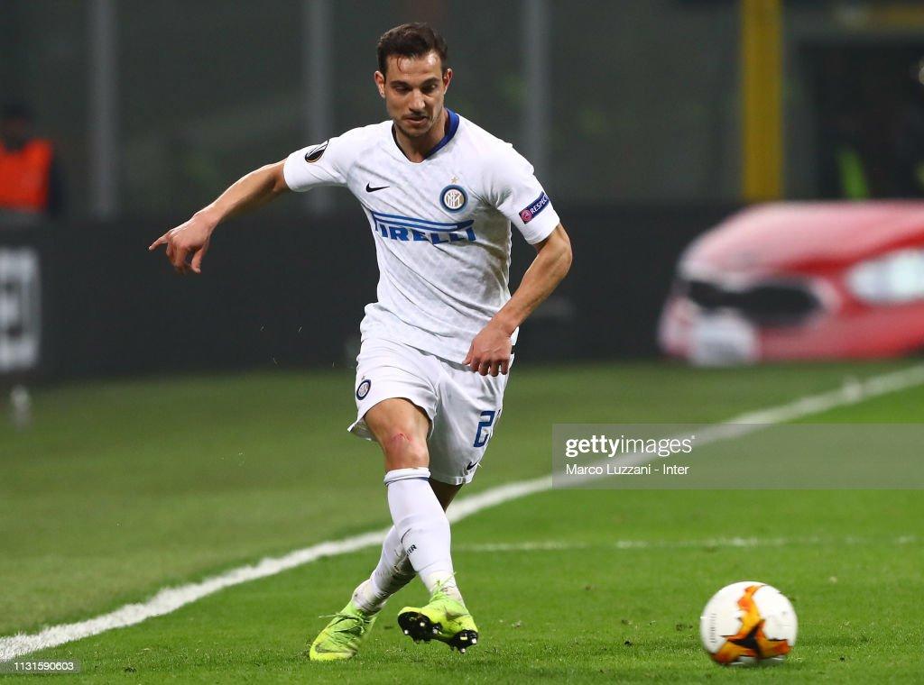 FC Internazionale v SK Rapid Wien - UEFA Europa League Round of 32: Second Leg : News Photo