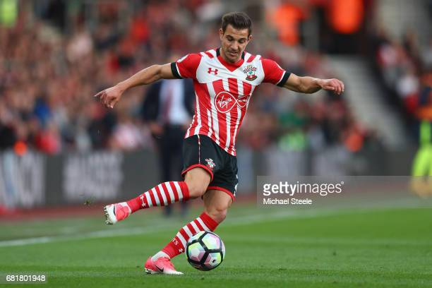 Cedric Soares of Southampton during the Premier League match between Southampton and Arsenal at St Mary's Stadium on May 10 2017 in Southampton...