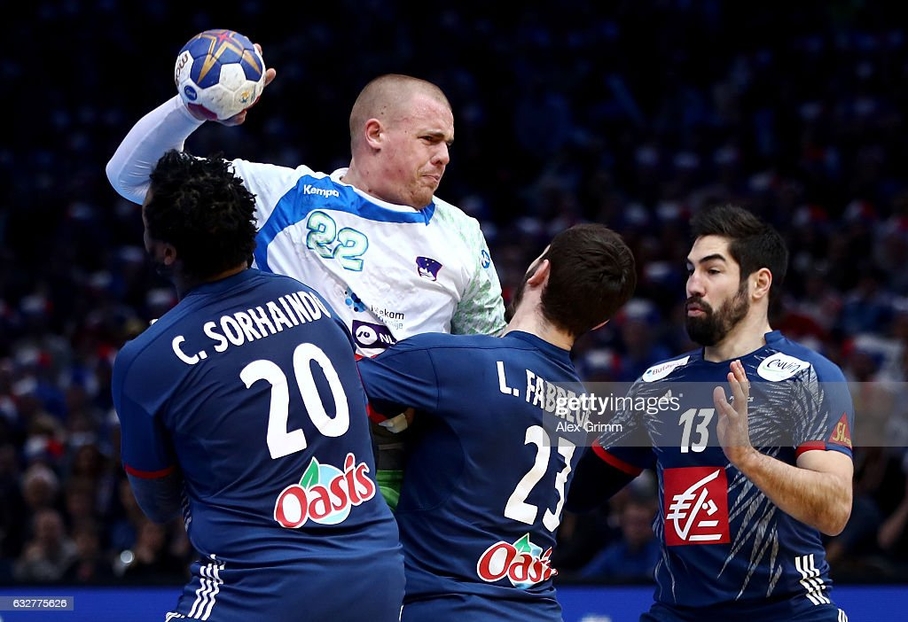 France v Slovenia - 25th IHF Men's World Championship 2017 Semi Final