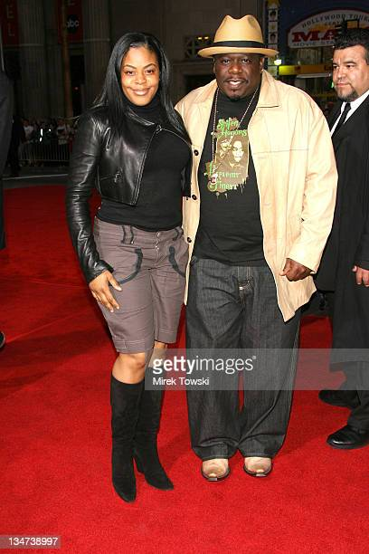 Cedric The Entertainer and his wife during Tom Cruise Fan Club Screening of 'Mission Impossible III' in Los Angeles Arrivals at Grauman's Chinese...