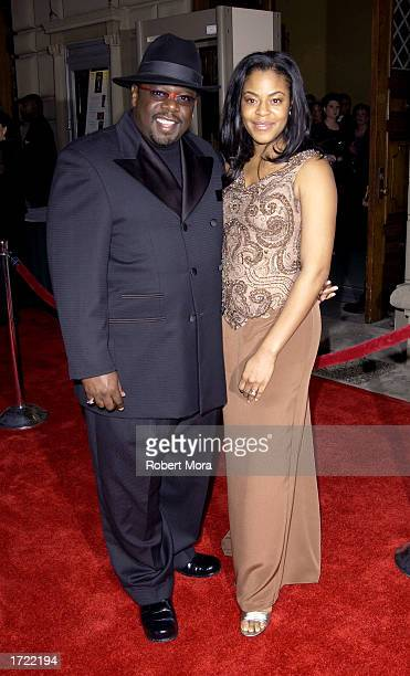 Cedric The Entertainer and his wife Lorna attend the 29th Annual People's Choice Awards at the Pasadena Civic Center January 12 2003 in Pasadena...