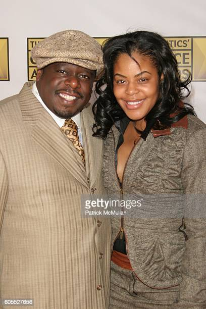 Cedric the Entertainer and Lorna Wells attend 11th Annual Critics' Choice Awards Arrivals at Santa Monica Civic Auditorium on January 9 2006 in Santa...