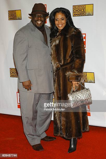 Cedric the Entertainer and Wife attends The Broadcast Film Critics Association's 12th Annual Critic's Choice Awards at Santa Monica Civic Auditorium...