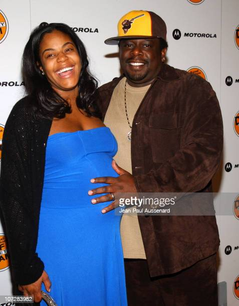 Cedric The Entertainer and wife during Russell Simmons and Stan Nathan Host Def Poetry Jam Los Angeles Kick Off For 32 City Tour Arrivals at...