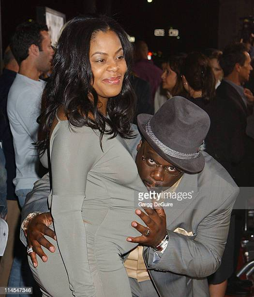 Cedric the Entertainer and wife Lorna during 'Intolerable Cruelty' Premiere Arrivals at Academy Theatre in Beverly Hills California United States
