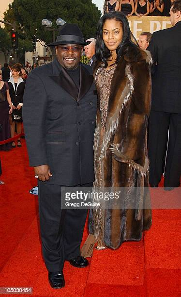 Cedric the Entertainer and wife Lorna during The 29th Annual People's Choice Awards Arrivals by Gregg DeGuire at Pasadena Civic Auditorium in...