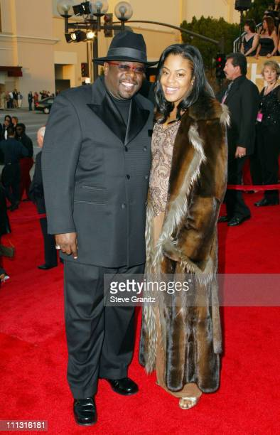 Cedric the Entertainer and wife Lorna during The 29th Annual People's Choice Awards Arrivals at Pasadena Civic Auditorium in Pasadena California...