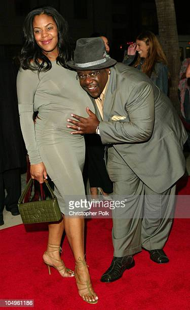 Cedric the Entertainer and wife Lorna Wells during Intolerable Cruelty Los Angeles Premiere at The Academy of Motion Picture Arts and Sciences in...