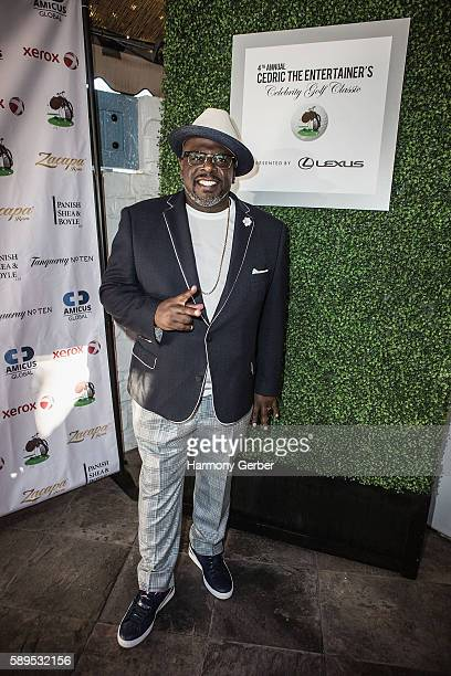 Cedric the Entertainer arrives to Bogie's at Spanish Hills Country Club on August 15 2016 in Camarillo California