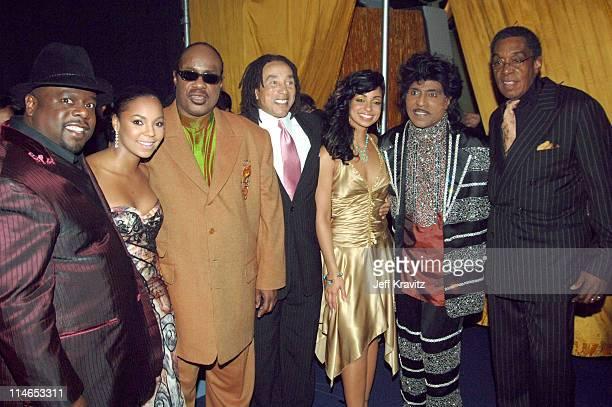 Cedric the Entertainer Ashanti Stevie Wonder Smokey Robinson Mya Little Richard and Don Cornelius