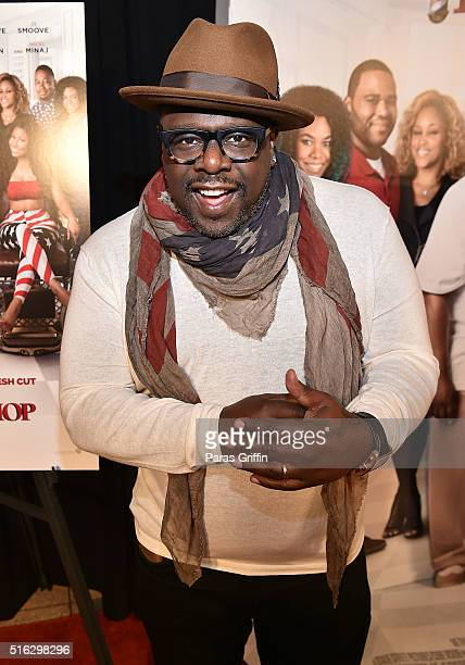 Cedric The Entertainer attends 'Barbershop The Next Cut' advanced Atlanta VIP screening at Regal Atlantic Station on March 17 2016 in Atlanta Georgia