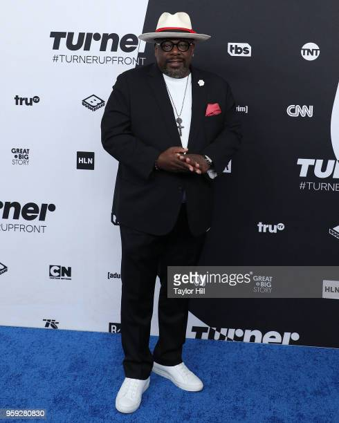 Cedric the Entertainer attends the 2018 Turner Upfront at One Penn Plaza on May 16 2018 in New York City