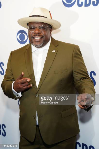 Cedric the Entertainer attends the 2019 CBS Upfront at The Plaza on May 15 2019 in New York City