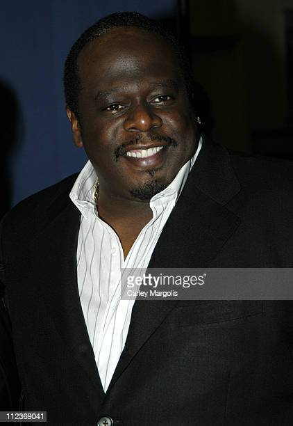 Cedric the Entertainer during Riverkeeper Gala Honoring Viacom's Tom Freston at Pier 60 at Chelsea Piers in New York City New York United States