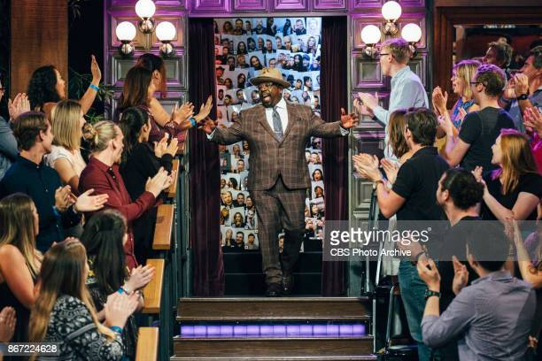 Cedric the Entertainer greets the audience during 'The Late Late Show with James Corden' Tuesday October 24 2017 On The CBS Television Network