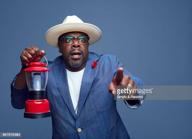 Cedric the Entertainer of Turner Networks 'TBS/The Last OG' poses for a portrait during the 2017 Summer Television Critics Association Press Tour at...