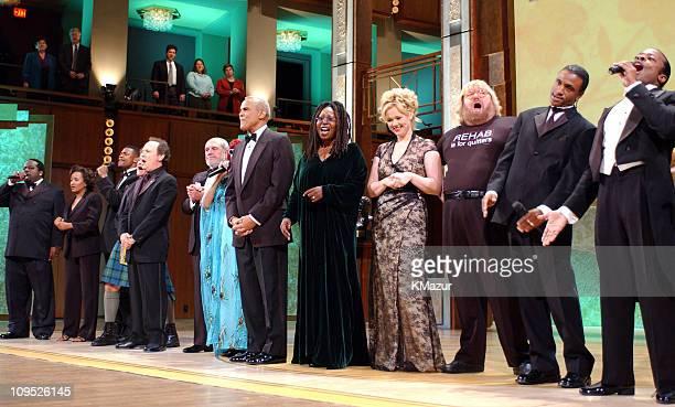 "Cedric ""The Entertainer,"" Wanda Sykes, Chris Tucker, Robin Williams, Billy Crystal, Alan King, Celia Cruz, Harry Belafonte, Whoopi Goldberg, Caroline..."